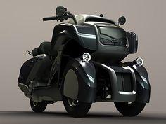 Izigo : un concept-scooter électrique Naked