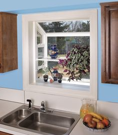 Builders Vinyl Garden Window | JELD WEN Doors U0026 Windows · Kitchen Garden WindowKitchen  Bay ...