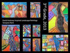 Hockney landscape lesson