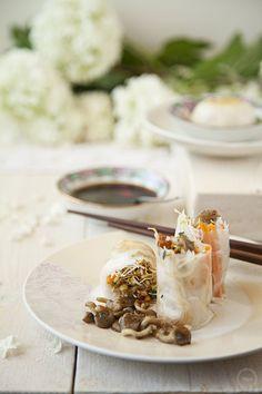Vietnamese spring rolls by Tarjeta de embarque