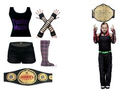 """""""Mixed Tag w/ Jeff Hardy"""" by ambrollins-life on Polyvore"""