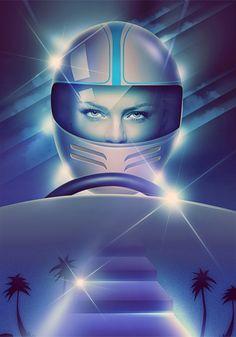 Retro Futuristic Illustrations – Filipp Ryabchikov