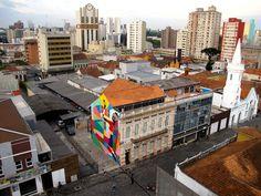 Rimon Guimarães, Curitiba, Brazil - unurth | street art #streetart #Brazil