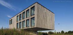 Outdoor Wood Concepts®lance Woodface® : un concept unique de façade, garant d'un rayonnement chaleureux et d'une touche es