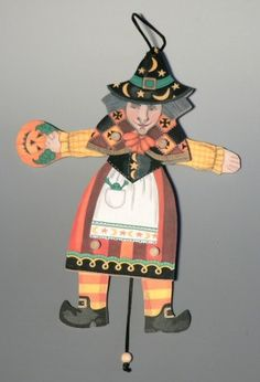 Laughing Moon Presents The Toymakers Collection - Witch Morgana