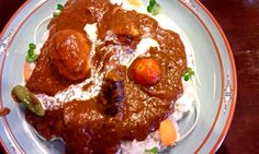 """Special curry  (""""Indian """" in Tokyo)"""