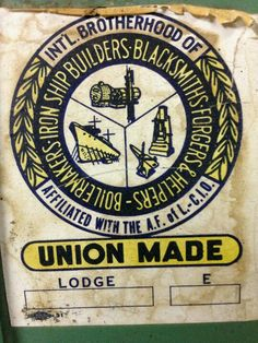 Boilers union made