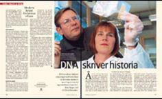 DNA skriver historia   Forskning & Framsteg   Populärvetenskapligt magasin