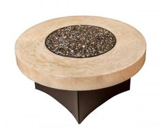 """Oriflamme Fire Pit Table Tuscan 38"""" Round"""