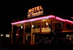 Route 66 Motel El Rancho, Gallup NM