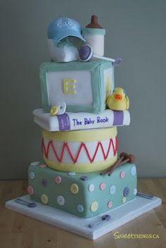 Baby Shower Cakes For Boys Toronto