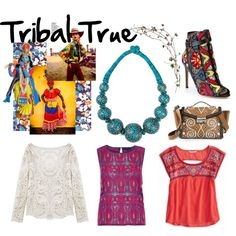 """""""Tribal True"""" by mymagnifico,com on Polyvore."""
