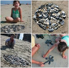 outdoor beachy shell sculptures... Projects For Kids, Art Projects, Art Camp, Best Artist, Sculptures, Shell, Wraps, Backyard, The Incredibles