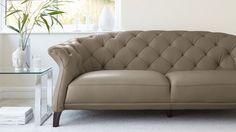 Cashmere 2-3 Leather Sofa
