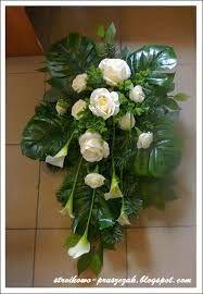 c84eb5573eb373 Znalezione obrazy dla zapytania florystyka nagrobna Kompozycje Kwiatowe,  Tropikalne Kwiaty, Bukiety, Żal