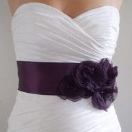 cute detail to a bm dress!