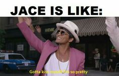 Bruno Mars is freakin Jace Im-Too-Lazy-To-Remember-His-Name