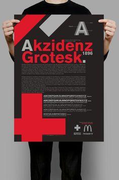 Tribute to Akzidenz Grotesk. Graphic design by Ciro Galluccio http://www.facebook.com/tribegraphics