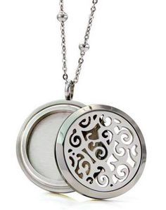Silver Turtle Essential Oil Diffuser Necklace Oil Case Locket Small Young Living