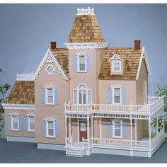 Have to have it. Real Good Toys Woodstock Dollhouse Kit - 1 Inch Scale - $579.99 @hayneedle