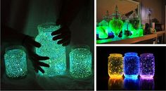 Homemade Glowing Jars: Amazing Night Lights For Your Kids