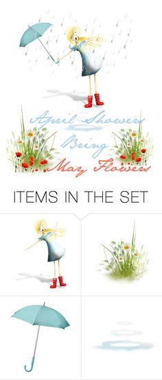 """""""Happy April 1st to my Poly Friends"""" by riagr ❤ liked on Polyvore featuring art, vintage, LoveIt, artset, topset and artexpression"""