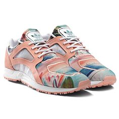 low priced 63955 31d4d adidas Originals x Farm Racer Lite Lotus Adidas Farm, New Sneakers,  Running Sneakers