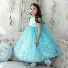 $5.88 (Buy here: https://alitems.com/g/1e8d114494ebda23ff8b16525dc3e8/?i=5&ulp=https%3A%2F%2Fwww.aliexpress.com%2Fitem%2FBaby-Girls-Clothes-Elsa-Wedding-Party-Long-Dress-Anna-Sequins-Snowflake-Princess-Tutu-Dress-Infantil-Vestido%2F32758695402.html ) Baby Girls Clothes Elsa Wedding Party Long Dress Anna Sequins Snowflake Princess Tutu Dress Infantil Vestido Roupa for Children for just $5.88
