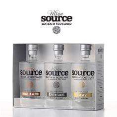 Whiskyvatten Uisge Source 3 st - Dryckesglas.se