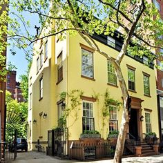 Truman Capote's Brooklyn Heights home. It just sold for $12 million! Looks gorgeous.