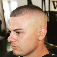 traditional high and tight haircut