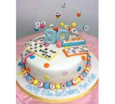 mom s 70th 2 14 19 44 69 70 not marked bingo cake cakes