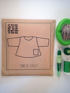 100 Acts of Sewing: Tunic No. 1 - Sewing Pattern  (sizes XS-L) by 100ActsofSewing on Etsy https://www.etsy.com/listing/199113652/100-acts-of-sewing-tunic-no-1-sewing