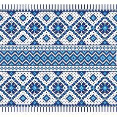 Vector of 'Vector illustration of ukrainian seamless pattern ornament'
