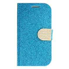 Stylish Shimmering Powder pu Leather Full Body Case for Samsung Galaxy S3 I9300 (Assorted Colors) – USD $ 7.99 - Gold