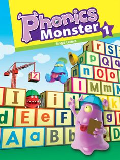 ◀Phonics Monste▶r 1 Single Letters  ($2.99) Phonics Monster 1 covers the sounds of the alphabet from A to Z with ease and lots of fun. Children will study by listening, reading, speaking, and writing activities. Enjoy listening, reading, speaking, and writing in English with the fun and exciting Phonics Monster Application!    [Phonics Monster's Target Learners]  ★Children from K-5 to G-2