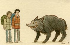 In The Mouth Of Dorkness: Dork Art: An American Werewolf in London ...