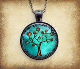 *•° Sweet Tree of Life°•* Copper Tree Necklace : Gunmetal | Lizabettas