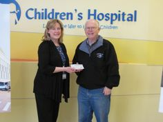 Thank you to the Tennessee Valley Mustang Club who donated $1,000 to East Tennessee Children's Hospital.