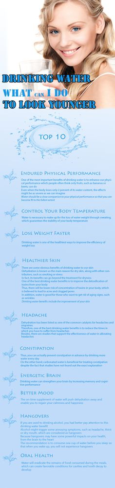 Water is a hidden secret of youth. Here are its 10 magic health benefits.