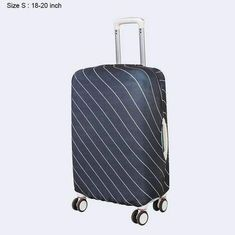 Luggage Cover Bear Vintage Original Wildlife Protective Travel Trunk Case Elastic Luggage Suitcase Protector Cover