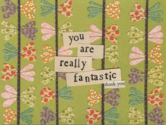 Fantastic Thank You Notes - Curly Girl Design