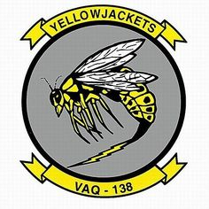 Yellow Jackets  Electronic Attack Squadron 138 (VAQ-138), US Navy: This EA-18G Growler squadron based out of Whidbey Island, WA has a fitting name for what it does. It buzzes adversaries with electronic attacks rendering them useless.