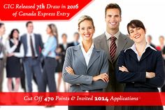 CIC Released New Express Entry Draw and invited 1,014 Applications with 470 cutoff score points to apply for Canada PR.