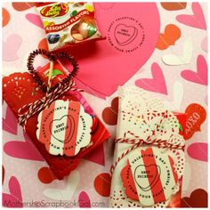 Convo Hearts Craft Project | Expressionery & Mothership Scrapbook Gal