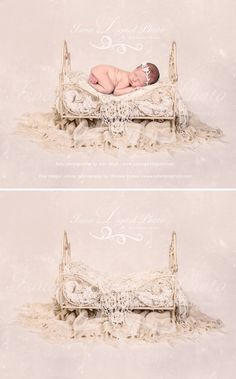 Iron Bed - Beautiful Digital background backdrops Newborn Photography Props download