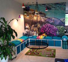 Indretning af børneværelse... Øh børnehjørne... i stuen Playroom Design, Playroom Decor, Playroom Organization, Kids Zone, Tot School, Outdoor Furniture, Outdoor Decor, Bedroom, Architecture