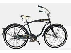 """Men's 26"""" Maui Beach Bike Cruiser (Black) for $89.99"""