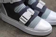 Details we like / Softgoods / Click fastening / Grey / Sneakers / at The Well