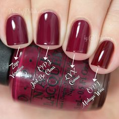 OPI Just Be-Claus Comparison | Holiday 2014 Gwen Stefani Collection Comparisons | Peachy Polish